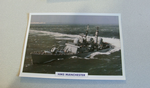 1980 HMS Manchester Destroyer  warship framed picture